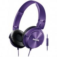 Philips SHL3065PP/00 Koptelefoon DJ-style met microfoon purple