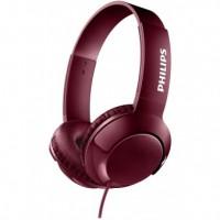 Philips SHL3070RD/00 Koptelefoon BASS+ rood
